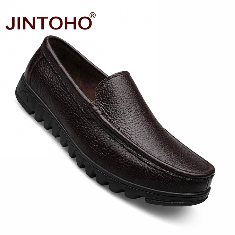 Luxe Zong Hommes Glissement 37 En Taille Cuir Grande De 48 Chaussures Jintoho Les Se an Marque Appartements Formelle Hei Italien Véritable Mocassins Sur Robe Ox8qgXw