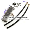 Oil Cooler radiator  Dirt pit monkey bike Off-road motorcycle ATV Engine cooling accessories  fuel hose spare parts