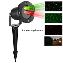 Christmas Laser star Light Outdoor Garden Decoration Waterproof  IP65 Laser Projector Showers  motion Red Outdoor laser Lights