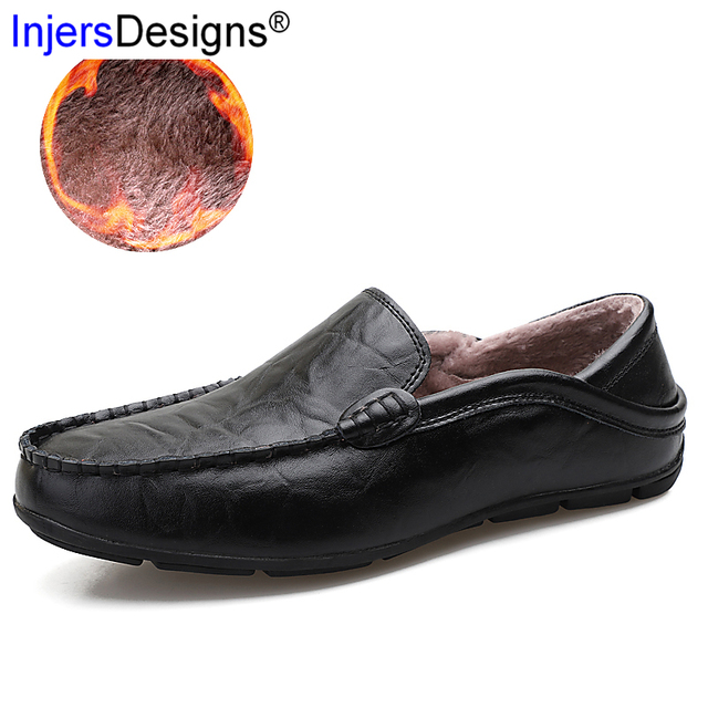 a5e5634d2ff Hot Sale Gommino Driving Shoes Men Breathable Or Warm Loafers Slip-On Soft  Flat Casual Boats Shoes Men Plus Size 37-47 Mocasines