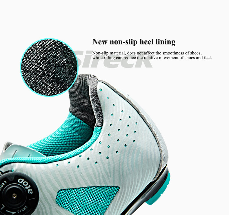 auto locking womens cycling shoes