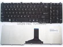 Novo teclado dos eua para toshiba Satellite L655D-SP6002M L655D-SP6003L L655D-SP6003M blacklaptop