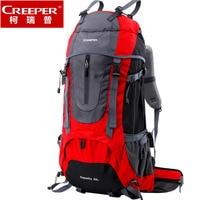 Outdoor Sport Bag Camping Hiking Backpack Travel Daypacks Rain Cover Backpack Bag 60L Rucksack Sac A