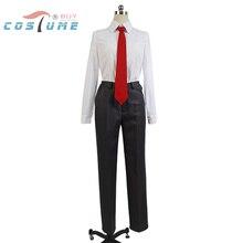 Ai Tenchi Muyo!Tenchi Masaki Uniform Outfit Suit Shirt Tie Pants For Men Anime Halloween Cosplay Costume Custom Made