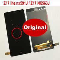 100% Original Best Glass Sensor For ZTE Nubia Z17 NX563J / Z17 Lite NX591J LCD Display Touch Panel Screen Digitizer Assembly