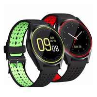 696 Bluetooth Smart Watch V9 Sports Watch Pedometer With SIM TF Smartwatch For Android Smartphone Russia PK DZ09 GT08 A1
