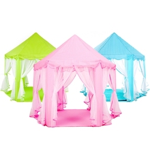 Portable Children Kids Play Tents Outdoor Garden Folding Toy Tent Pop Up Kids Girl Princess Castle Outdoor Playhouse Kids Tent