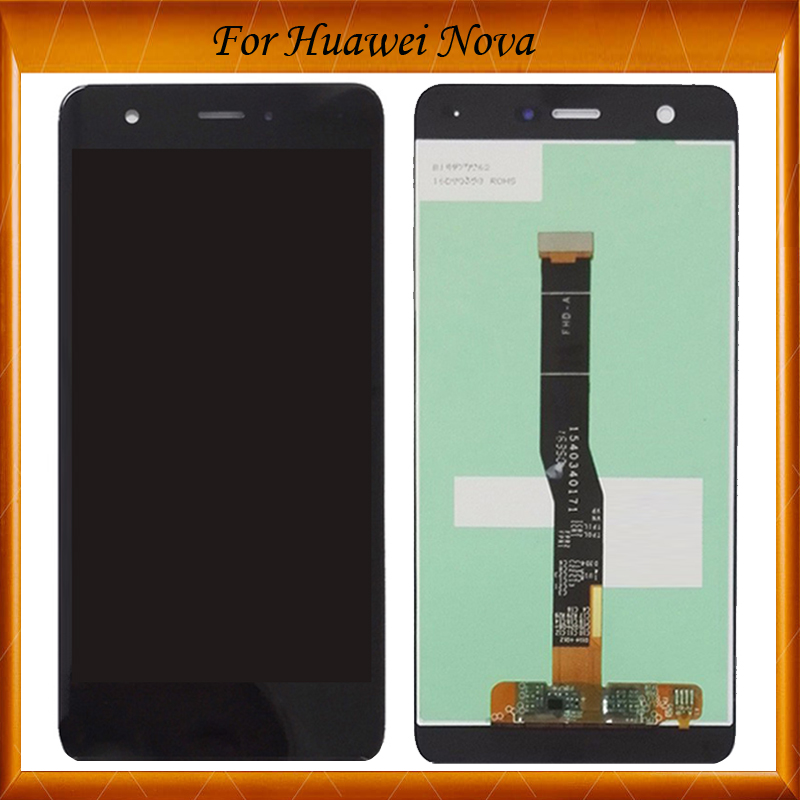 Top Quality For Huawei Nova LCD Display+Digitizer Touch Screen For Huawei Nova Lcd CAZ-AL10 CAN-L01 / L11 / L02 IN Stock