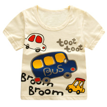 Baby Girls Boys Cartoon Print T Shirts