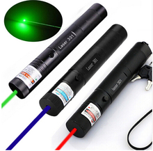 Buy online JSHFEI 532nm/650nm/405nm Focus Visible Beam green Laser Pointer Pen Green Laser  dot 200mW purple laser pointer  wholesale LAZER