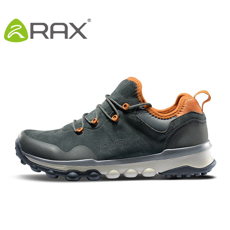 RAX Men Outdoor Sneakers Sports Hiking Shoes Trainers Trekking Woman Sneakers sapatos masculinos Mountain Climbing Shoes LeatherRAX Men Outdoor Sneakers Sports Hiking Shoes Trainers Trekking Woman Sneakers sapatos masculinos Mountain Climbing Shoes Leather