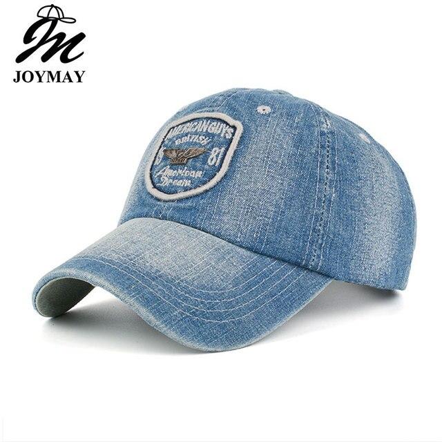 JOYMAYNew arrivo di alta qualità demins napback berretto da baseball  Americano ragazzi sogno del ricamo del 963a5a78bf3f
