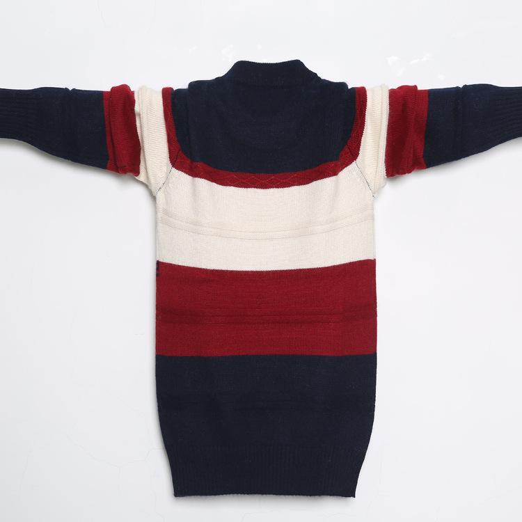 New Winter High Quality Cashmere Sweater for Kids Pullover Sweater Warm Children Cardigan Boys Wool Sweater Jumper 100 160 cm in Sweaters from Mother Kids