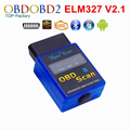 Best Quality Vgate EM327 Bluetooth V2.1 OBD2 Diagnostic Scanner ELM 327 For Android 12 Kinds Of Languages Free Shipping