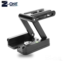 Z Type Tripod Heads Solution Photography Studio Camera Tripod Z Pan & Tilt Flex Tilt Head Aluminum Alloy For Nikon Canon Camera