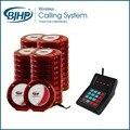 Digital sem fio sistema de chamada de pager restaurante CTP200 (1 Teclado com 40 Pagers)