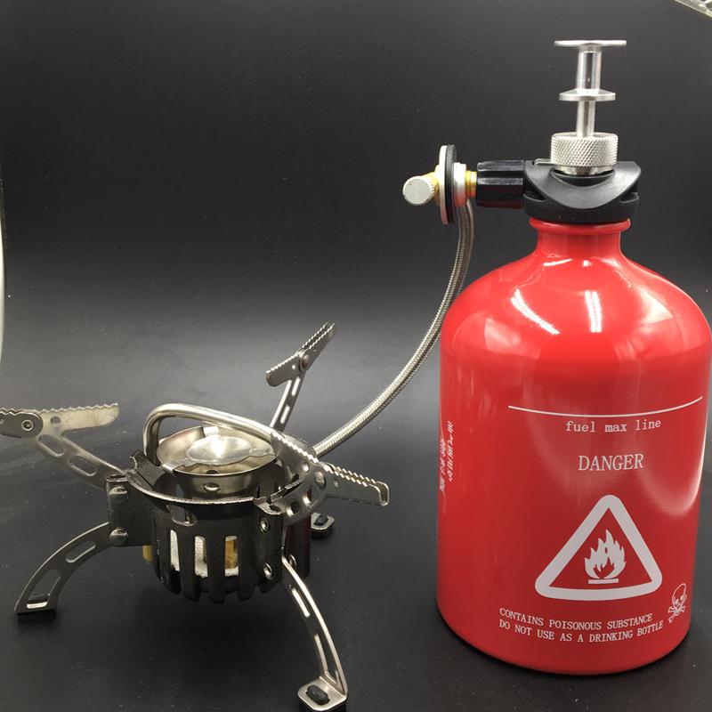 Prix pour Gaz-brûleur poêle chauffe pour tentes camping cuisinière à gaz torche feu d'érable remplissage bouteilles de gaz poêle à pétrole confi