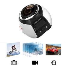 Новые 360 действие Камера V1 4 К профессиональные Wi-Fi мини Камера 2448*2448 Ultra HD панорама 360 градусов Спорт для вождения VR Камера