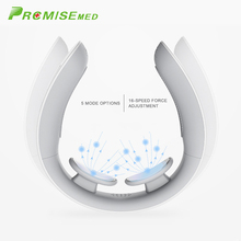 pr+mise Electric Pulse Back and Neck Massager Far Infrared Heating Pain Relief Tool Health Care Multifunctional Physiotherap