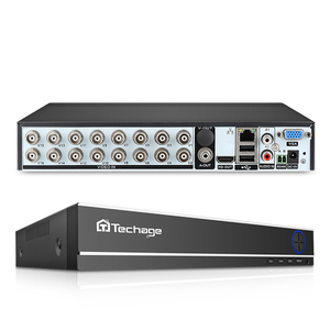 Image 1 - Techage XMeye 16CH H.264 1080 P HDMI AHD CCTV DVR NVR HVR 1080N 2MP Home Security Digital Video Recorder voor analoge AHD ip Camera