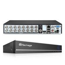 Techage XMeye 16CH H.264 1080P HDMI AHD CCTV DVR NVR HVR 1080N 2MP Home Security Digital Video Recorder for Analog AHD ip Camera