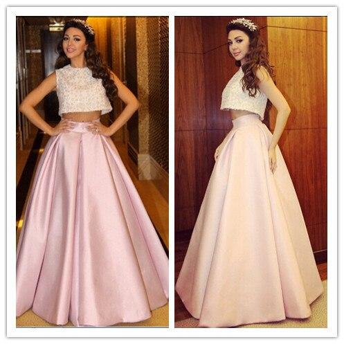 Mf18 мода Myriam тарифы топ растениеводство пром платья gece elbisesi бисероплетение двух частей комплект розовый дубай вечерние платья ночные платья abiye