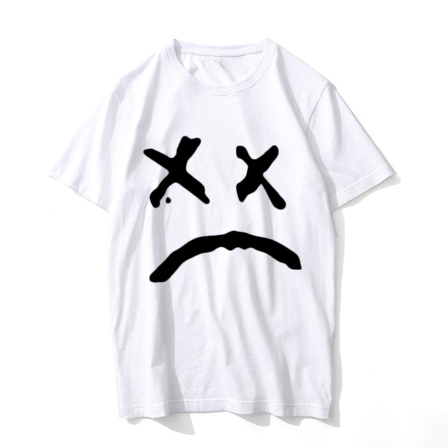 lil peep T Shirt Music Men Summer Graphic Tees rap rapped t-shirt Male hip 7012efe96a6