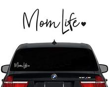 CCI Mom Life Decal Vinyl Sticker|Cars Trucks Vans Walls Laptop| White |7.5 in|CCI476