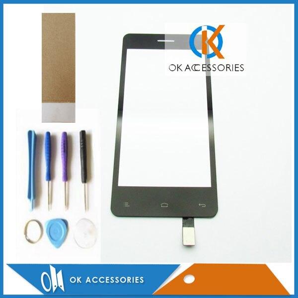 Высокое качество Новый Замена для Fly IQ4403 IQ 4403 Сенсорный экран планшета черный Цвет с инструментами ленты 1 шт./лот. ...