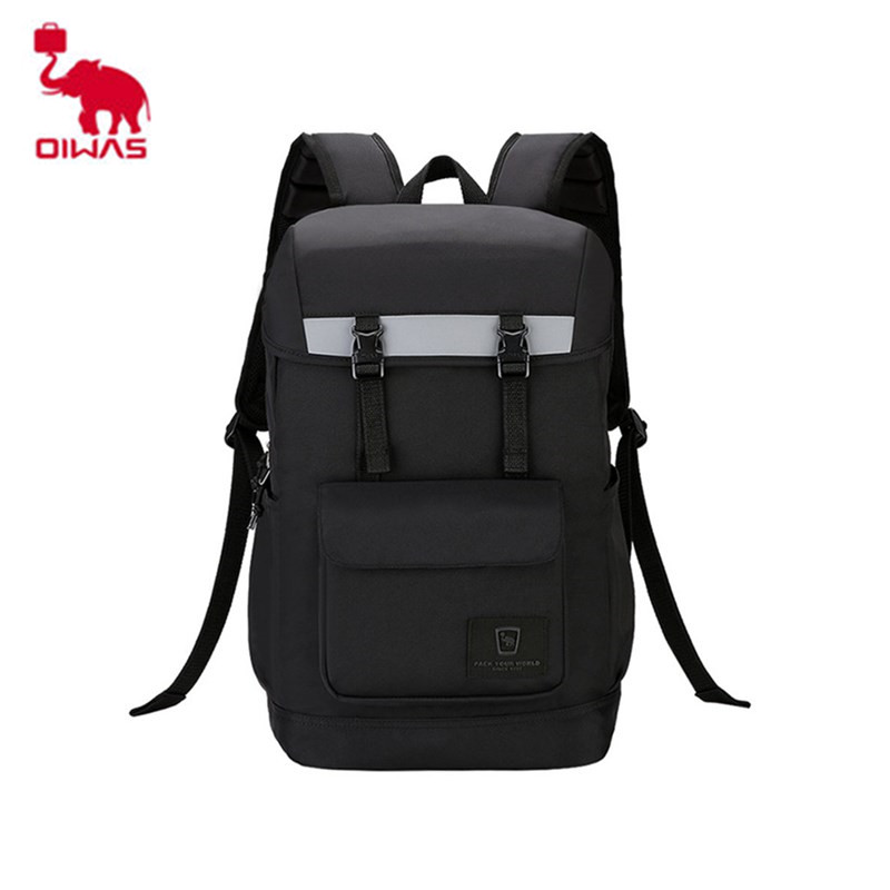 Oiwas Styling Wear-resistant Backpack Laptop Backpack School Bags Portable For Business Travel Carry-on Daypack 14 Inch Bag brand coolbell for macbook pro 15 6 inch laptop business causal backpack travel bag school backpack