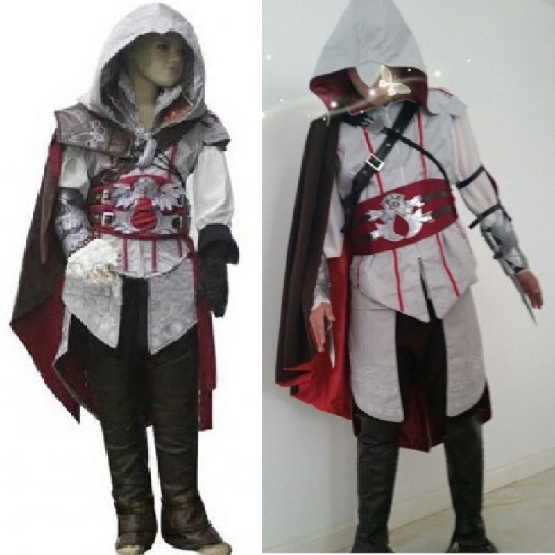 buy assassins creed costume for kids assassins creed cosplay ezio assassin. Black Bedroom Furniture Sets. Home Design Ideas