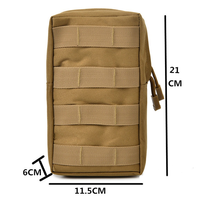 Airsoft Sports Military 600D MOLLE Pouch Bag 12