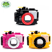 Seafrogs 40m/130ft TG5 Underwater Case Diving Waterproof Housing for Olympus TG 5 Camera M10/M14/M16 Sea&Sea Nauticam