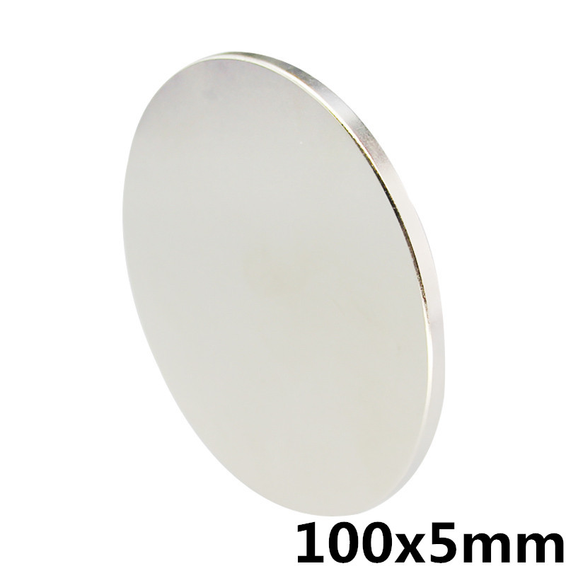 100x5mm Super Powerful Strong Bulk Small Round NdFeB Neodymium Disc Magnets Dia 100mm x 5mm N35 Rare Earth NdFeB Magnet diy 5 x 5mm cylindrical ndfeb magnet silver 20 pcs page 8