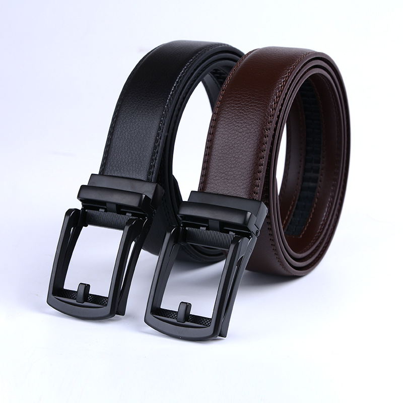 Fashion Mens Business Style   Belt   Leather Strap Male   Belt   High Quality Automatic Buckle   Belts   For Men Girdle   Belts   For Jeans