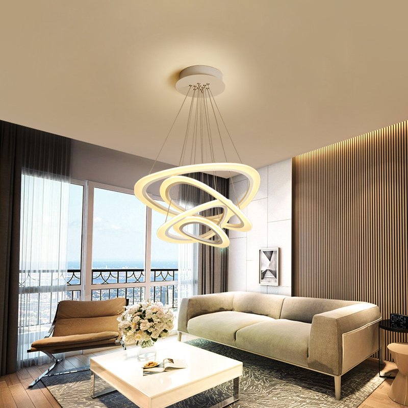 Post-Modern LED Pendant Lights for Parlor Bedroom Combination of optics and aesthetics indoor lighting Pendant Lamp led strip