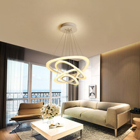 Post Modern LED Pendant Lights for Parlor Bedroom Combination of optics and aesthetics indoor lighting Pendant Lamp led strip