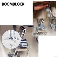 BOOMBLOCK 1set Car Anti Theft Lock Brake Steel For Audi A4 A3 A6 C6 B7 B8 B5 Q5 Seat Leon Ibiza Skoda Fabia Yeti Superb