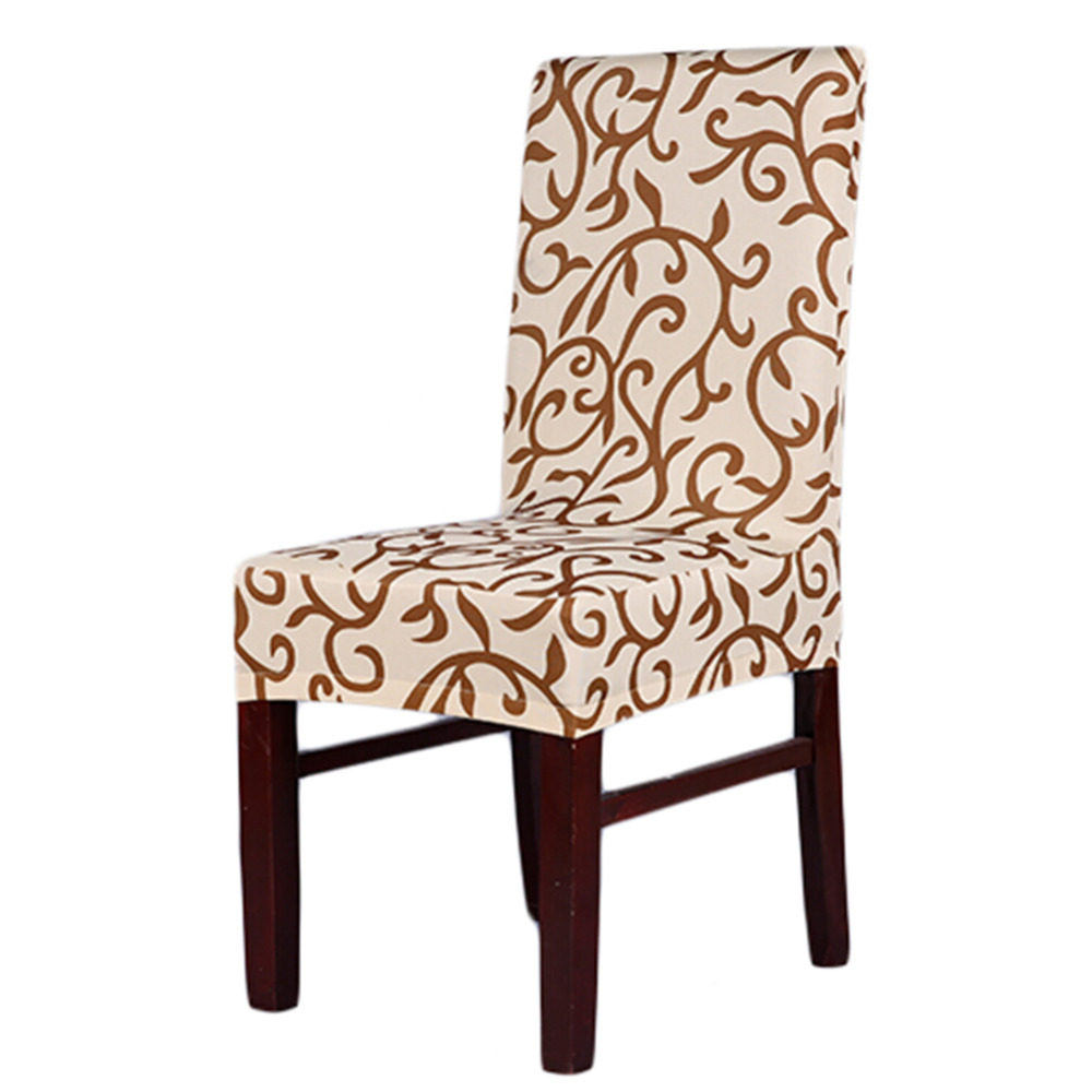 High Quality Spandex Stretch Dining Chair Cover Hotel Restaurant Weddings Banquet Home Christmas Decorations Seat Coverings