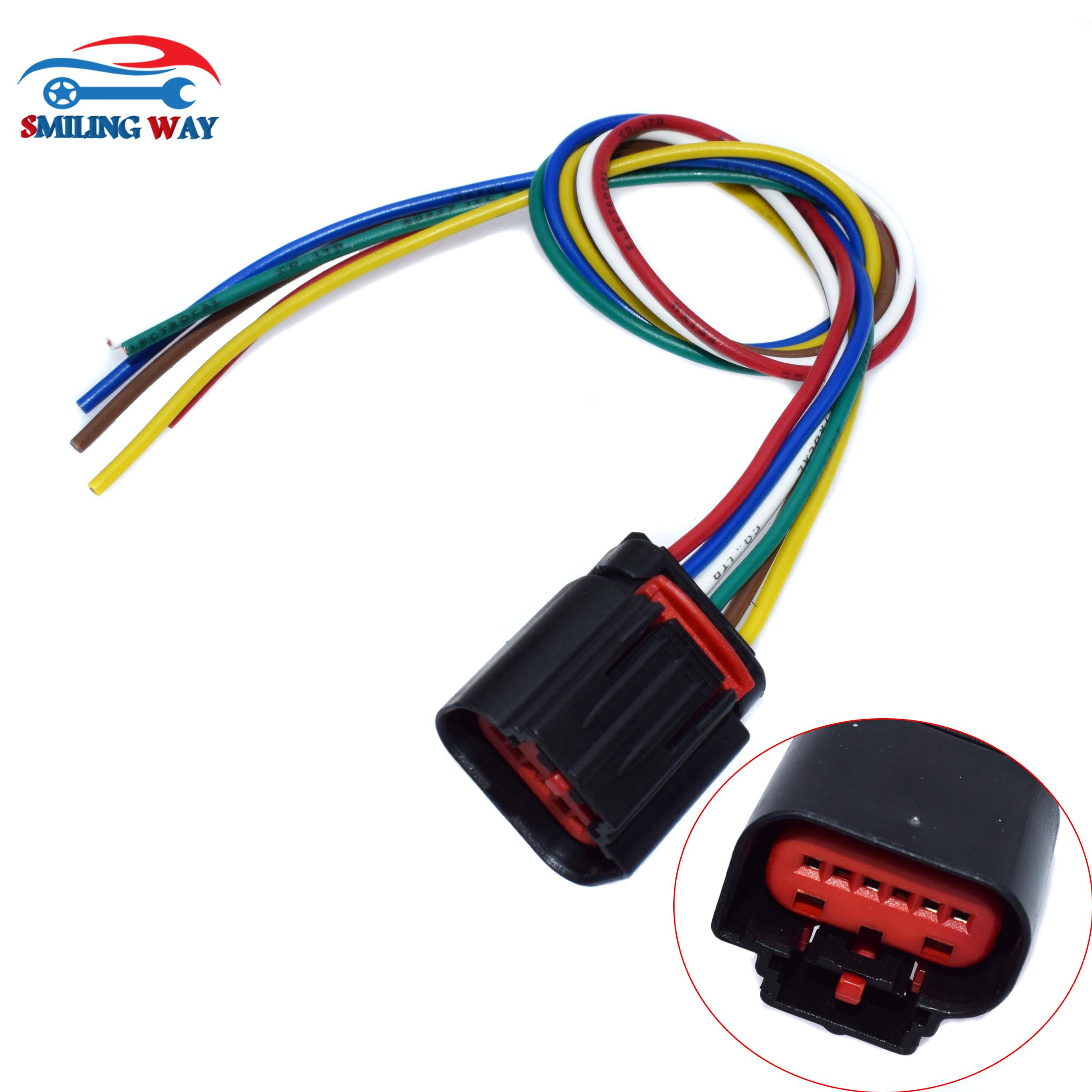 us $4 82 22% off maf air mass flow sensor wiring connector wire harness pigtail plug for citroen fiat ducato ford volvo s80 peugeot land rover in air  ford harness pigtail wiring #6