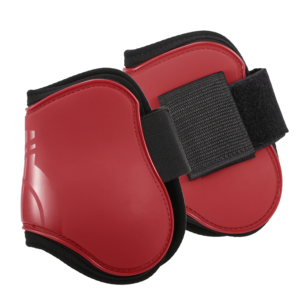 2 PCS Horse Hind Boots Equine Leg Guard Horse Tendon Shin Protection Neoprene Horse Hock Brace-in Horse Care Products from Sports & Entertainment