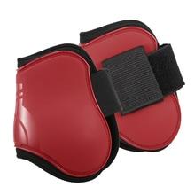 2 pçs cavalo traseiro botas equina perna guarda cavalo tendão shin proteção neoprene cavalo hock cinta
