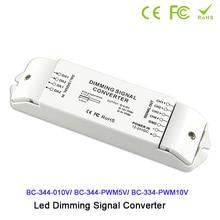 DC12V-24V 4 channels DALI to 0-10v/PWM5V/PWM10V signal converter DALI led driver controller for led lamp light