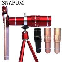 SNAPUM mobiele telefoon 18x telescoop Camera Zoom optische Cellphone telelens Voor iphone samsung Huawei oppo vivo xiaomi