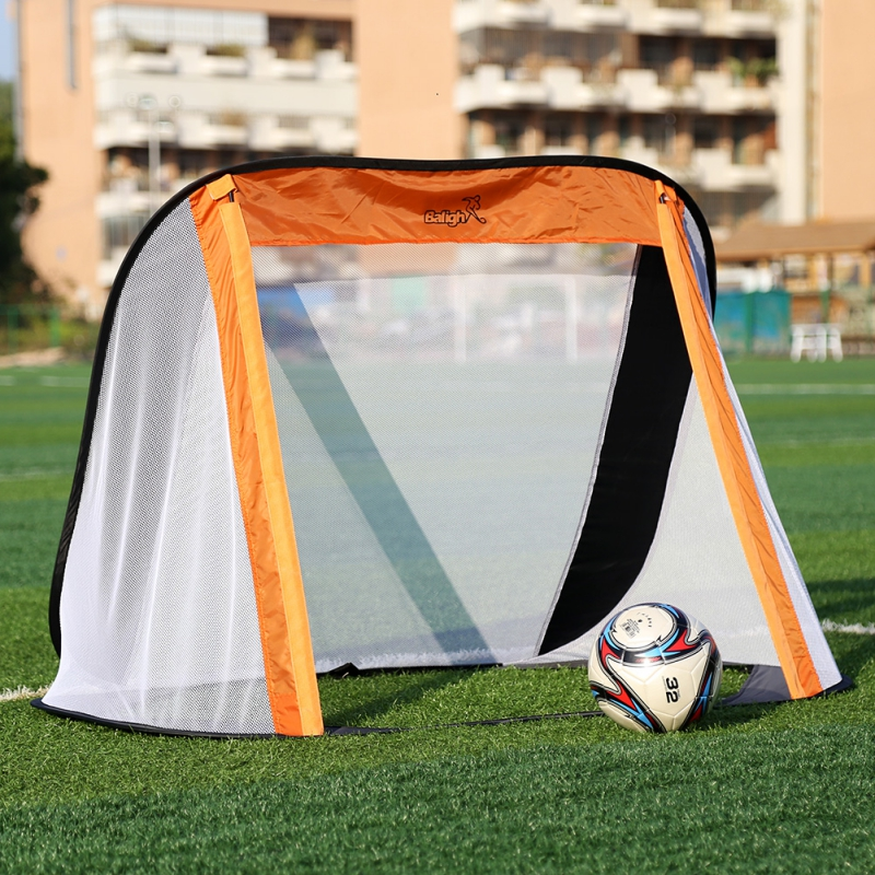 130*80*95CM Oxford Cloth Portable Soccer Goal Post Net Utility Football Soccer Goal Post Outdoor Indoor Sports Training free shipping football goal portable goal kage 183x120x120 3kg