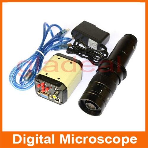 2.0M 200X USB AGV AV Output Video Digital Microscope Camera For Electronic PCB BGA iPhone Computer Repair tools