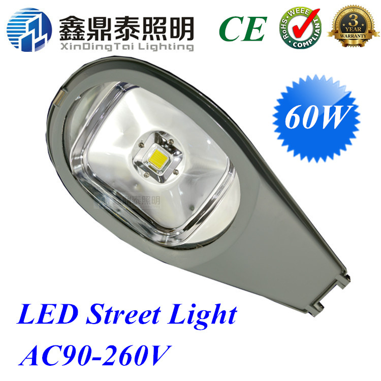 60W led street light road lamp cobra head LED street lamp AC85V-265V 2 years Warranty free shipping by FEDEX,2 pieces/lot p10 real estate project hd clear led message board 2 years warranty