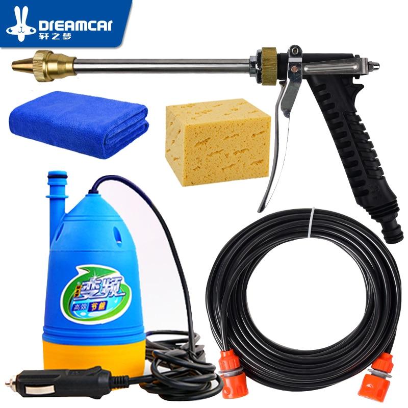 Free Shipping High 12v pressure washing gun device washing machine 12v portable cleaning machine car