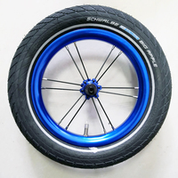 COCKSCOMB 12 inch Kids Bike Wheel Child Wheels for 85mm 95mm Balance Bicycle with inner Tube Tire Type Colorful 12 Children