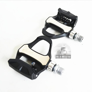 Q306 Free shipping   High-quality R73H bicycle pedal road lock riding riding pedal self-locking pedal
